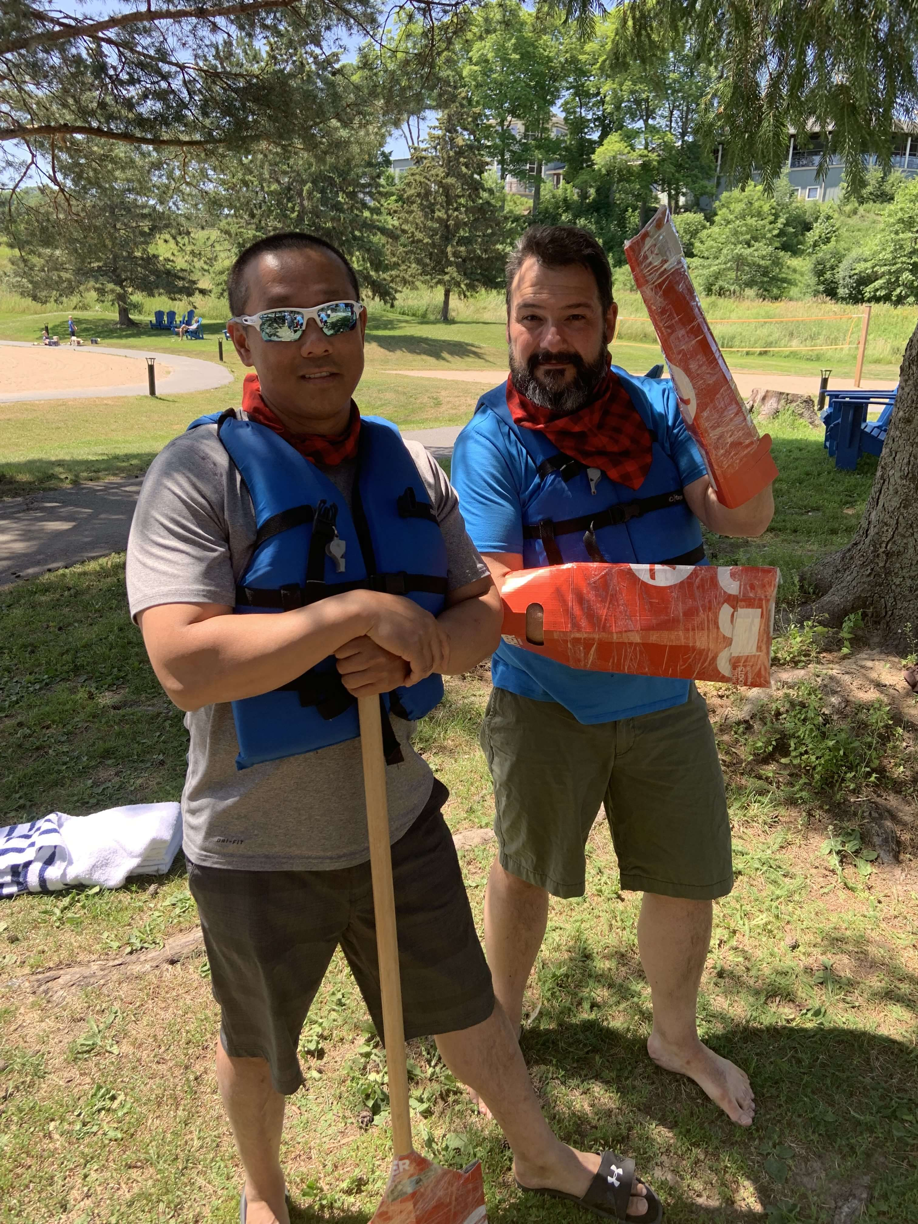 HealthHub Staff - Team Building Boat Challenge 2