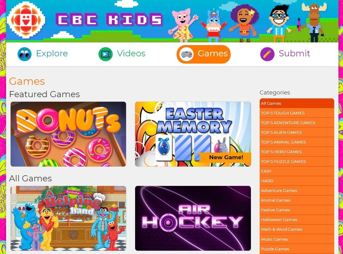 CBC Kids Screenshot - Patient Resources