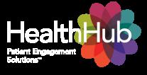 HealthHub Logo - White